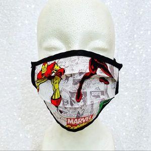 🔴4/$25 marvel avengers child face mask